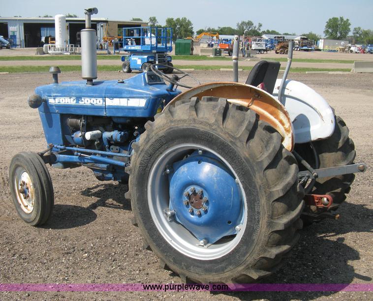 manual ford 3000 diesel tractor