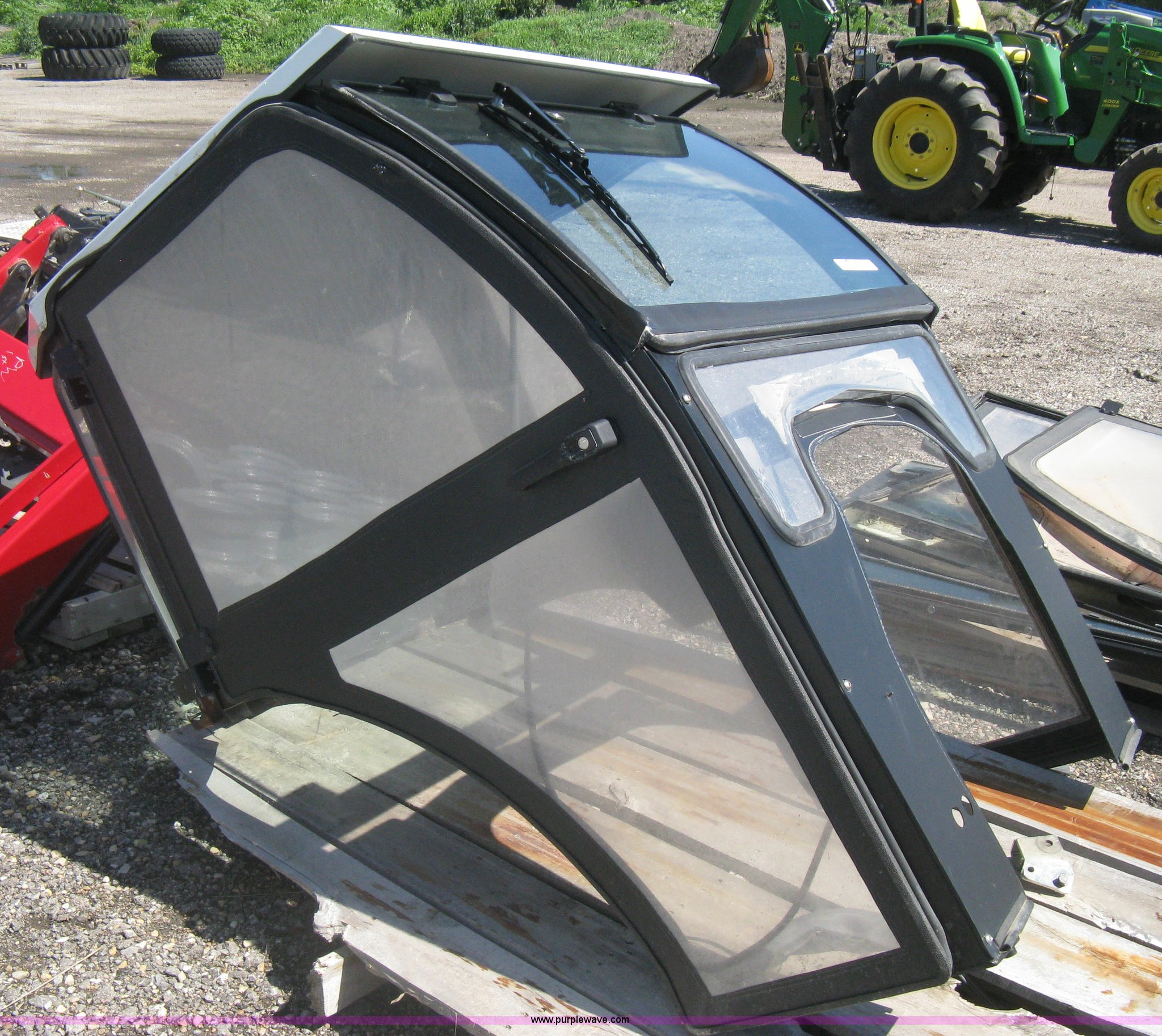 Curtis cab enclosure | Item AS9094 | SOLD! August 20 Vehicle