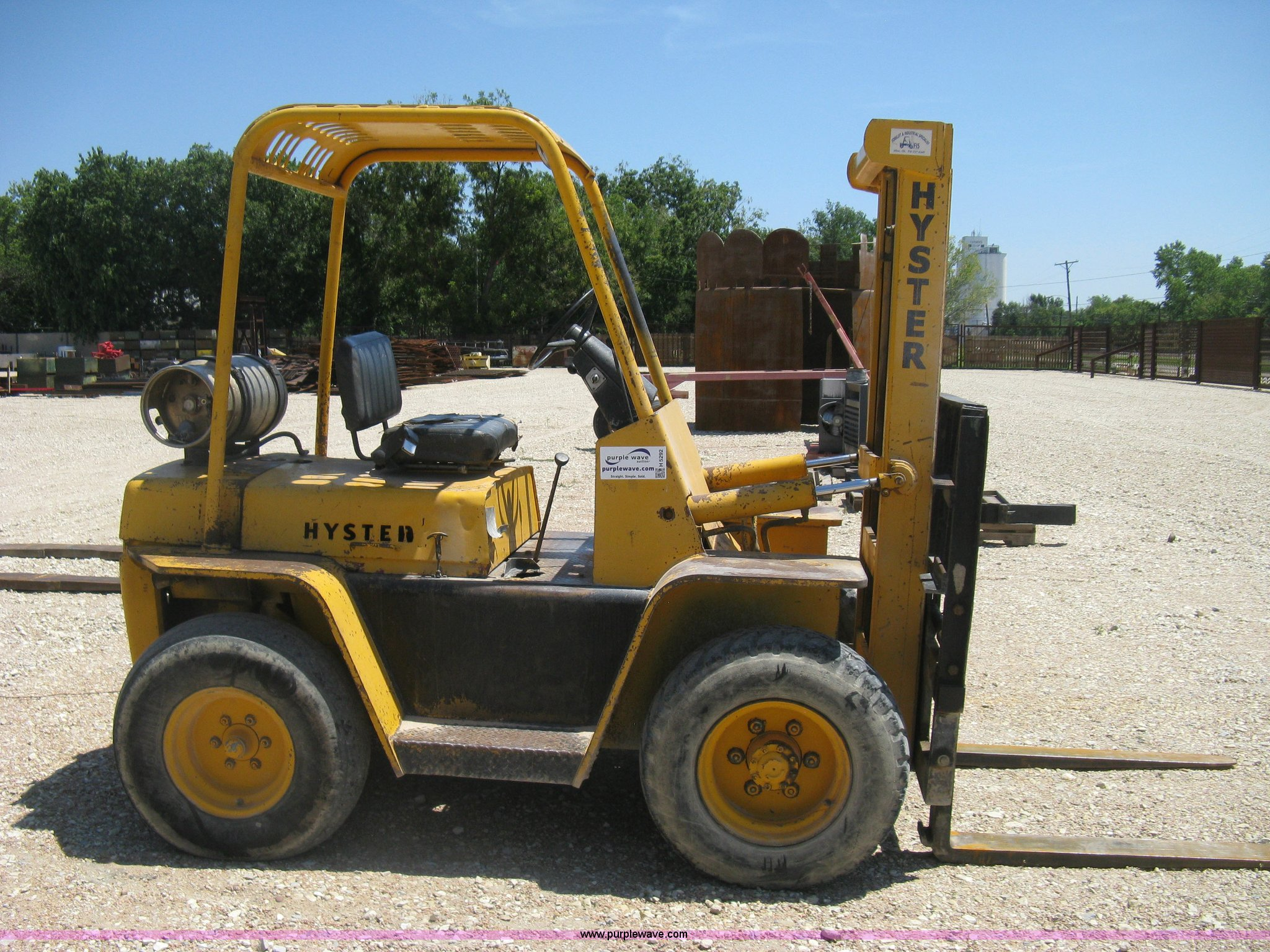 Hyster Rough Terrain Forklift Item H5292 Sold August 20 45 Wiring Diagram Full Size In New Window