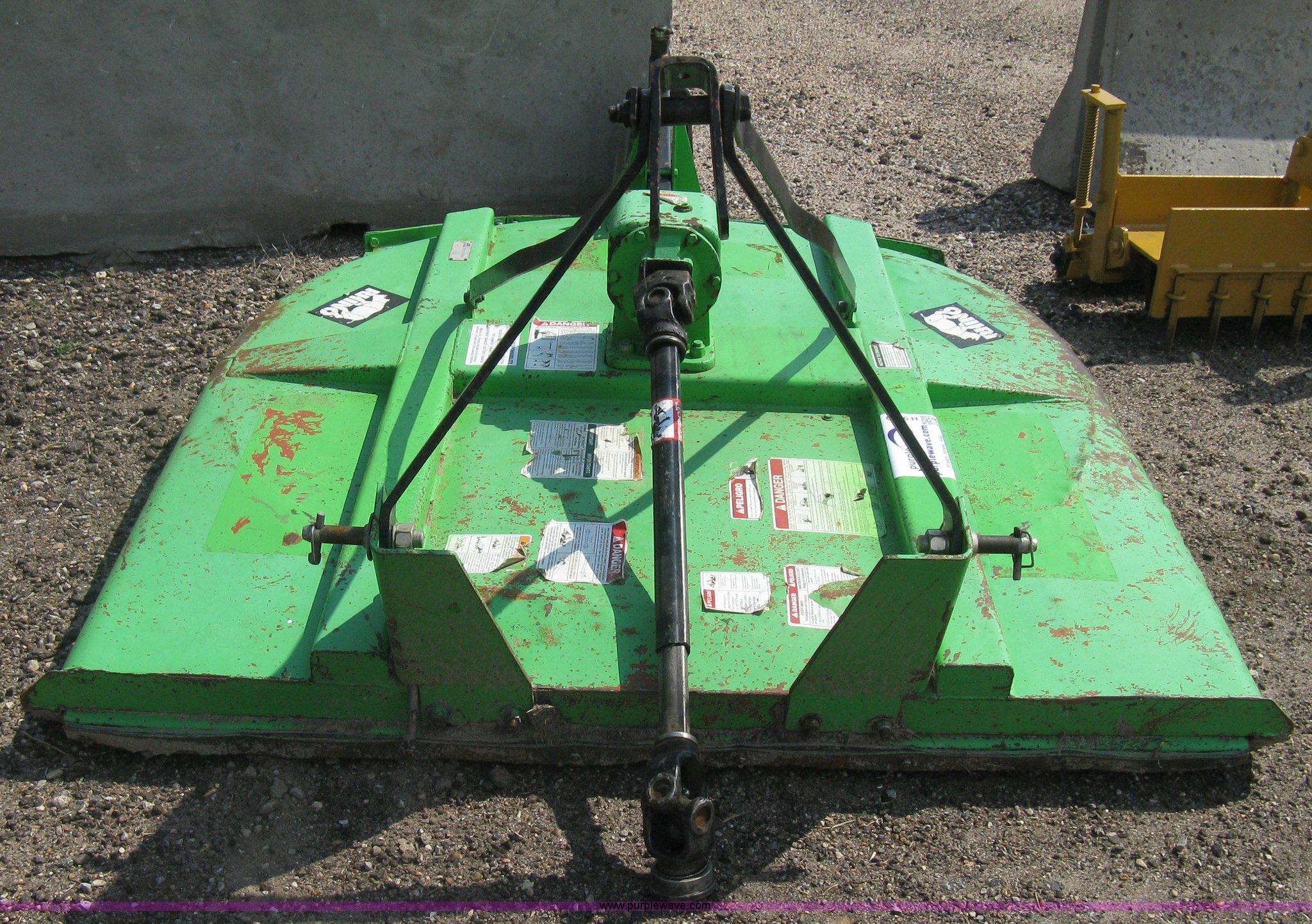 Rhino SE5 rotary mower | Item H5319 | SOLD! August 20 Vehicl
