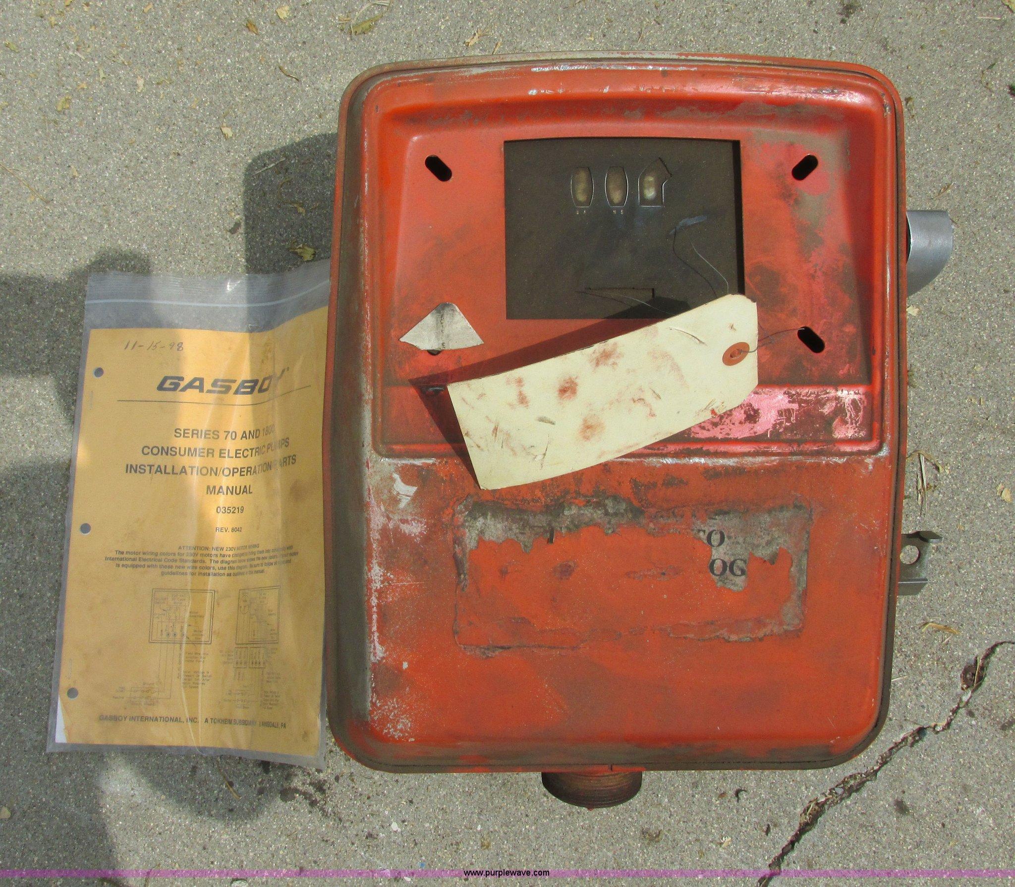 GasBoy 1820 fuel pump | Item I6204 | SOLD! August 20 Vehicle... on