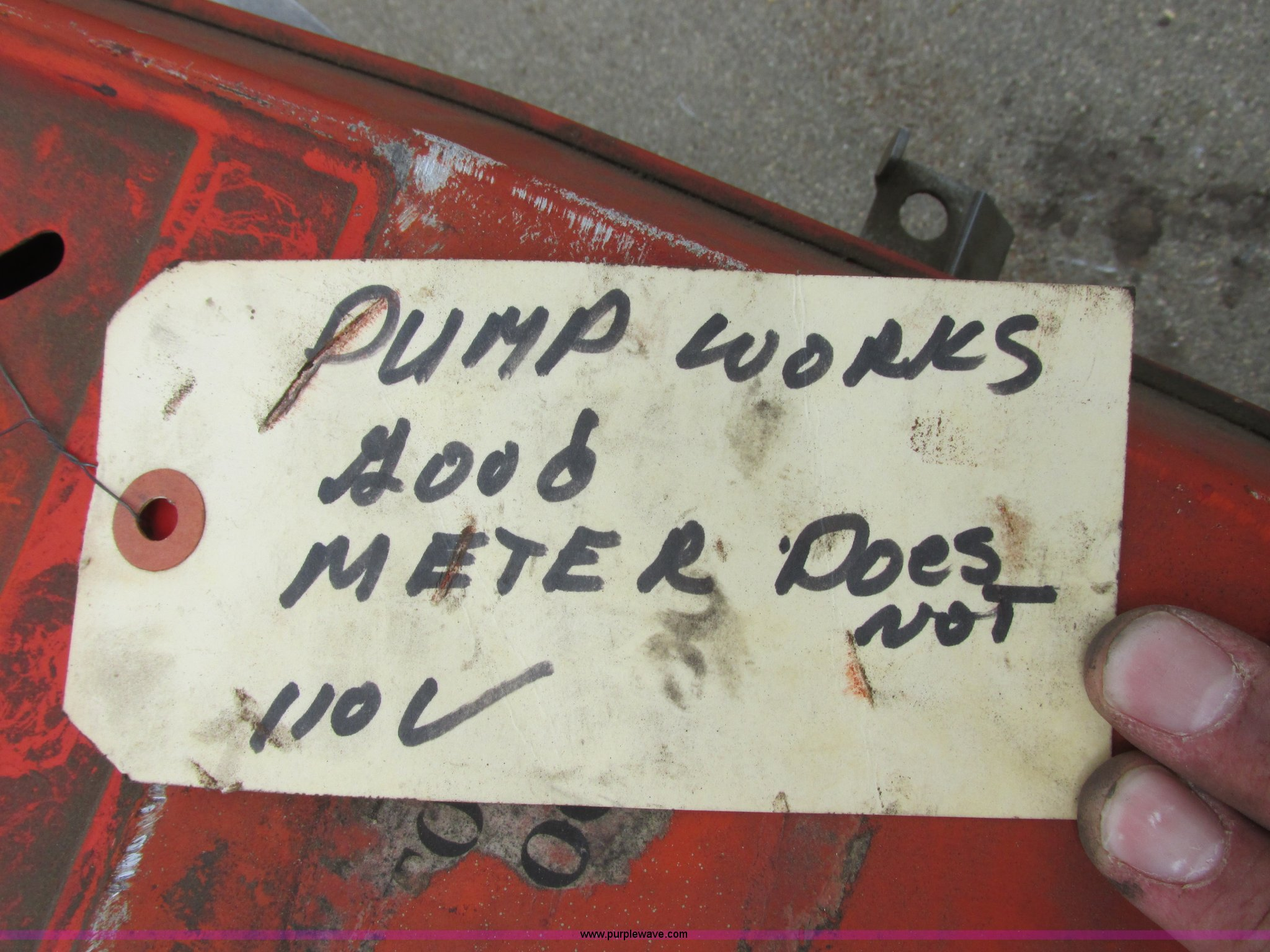 Gasboy 1820 Fuel Pump Item I6204 Sold August 20 Vehicle How Works Full Size In New Window