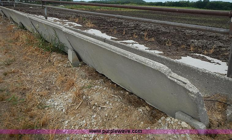 168 Of Concrete J Feed Bunks With Saddles Item Ba9699