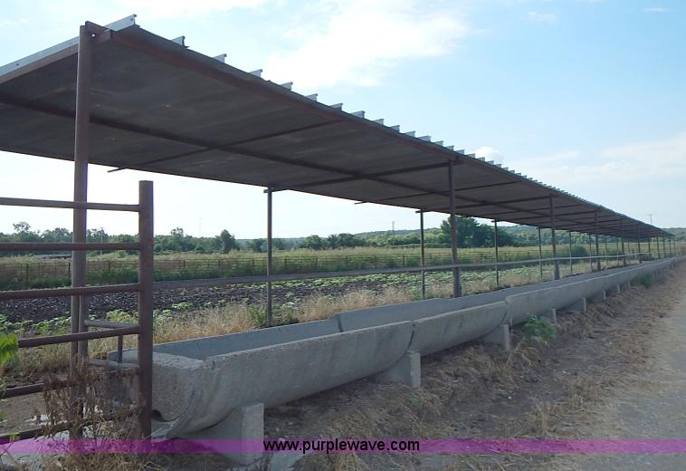 200 Of Concrete Round Bottom Feed Bunks With Saddles