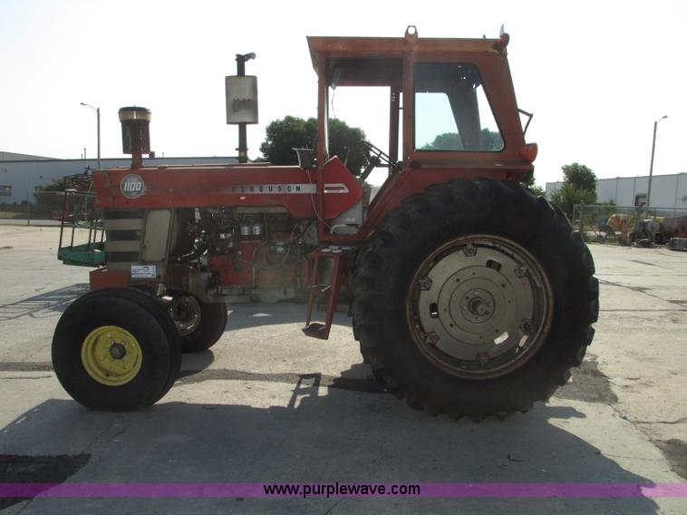 1970 Massey-Ferguson 1100 tractor   Item F7472   SOLD! Augus