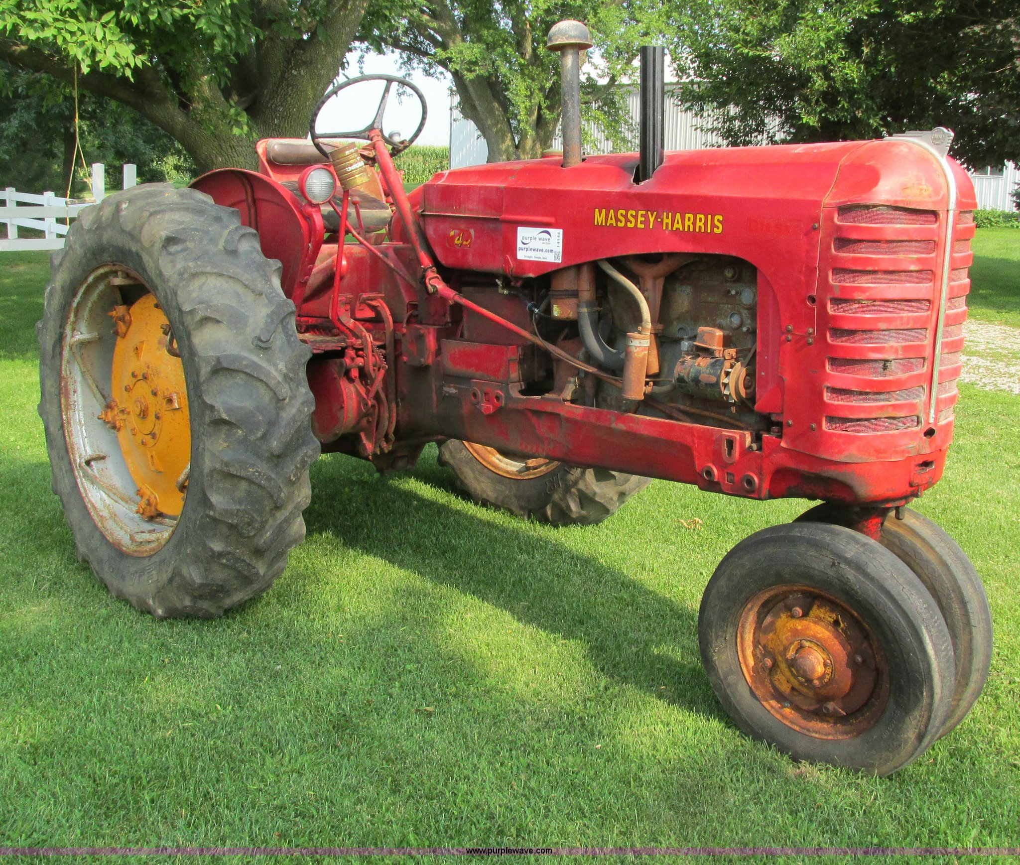 Massey Harris Tractor : Massey harris tractor item i sold august