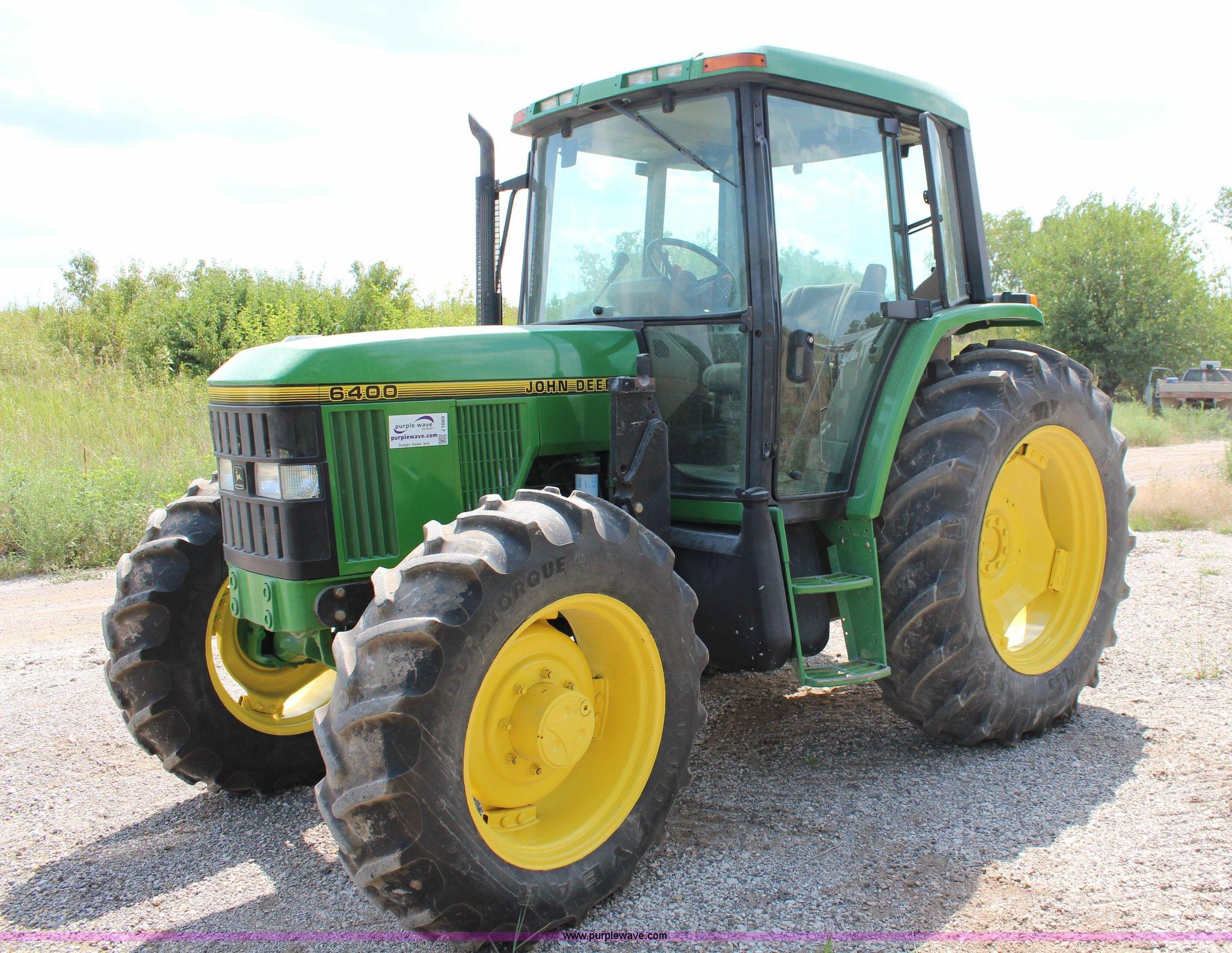 J1089 1997 john deere 6400 mfwd tractor item j1089 sold! augus