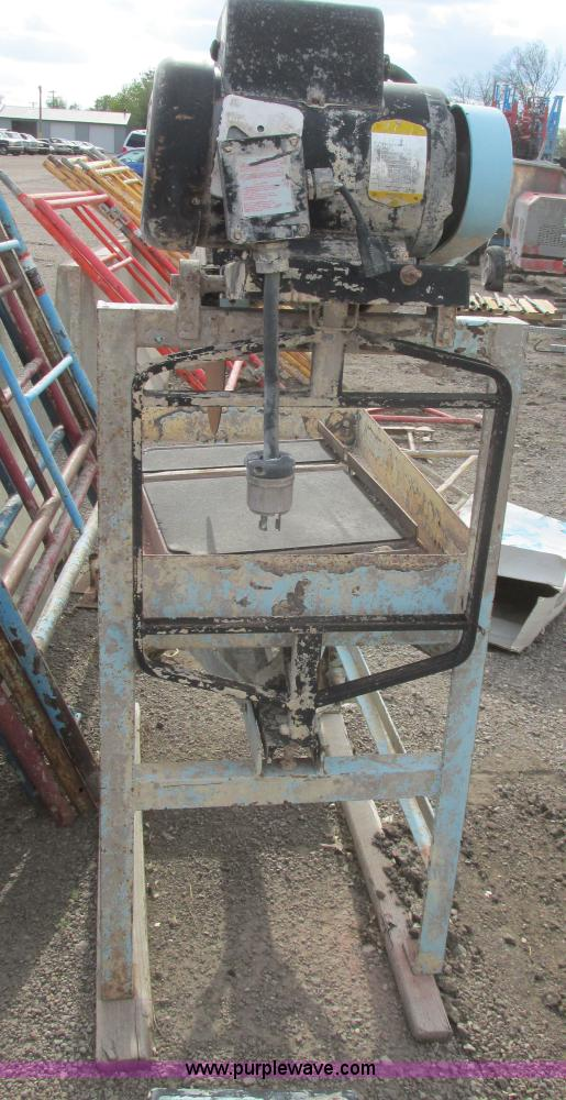 Target Gm2051 Masonry Saw Item As9246 Sold August 28