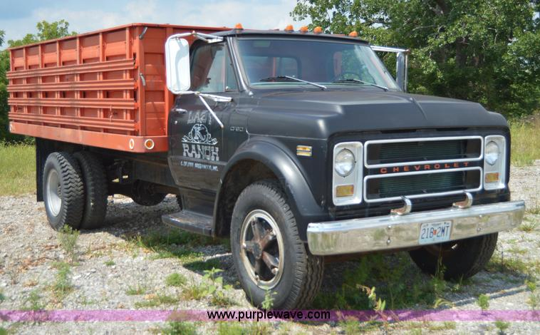 1971 Chevrolet C60 dump truck | Item I6489 | SOLD! August ...