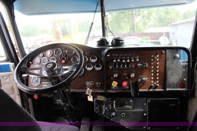 1987 Peterbilt 359 Classic semi truck | Item J1018 | SOLD! A