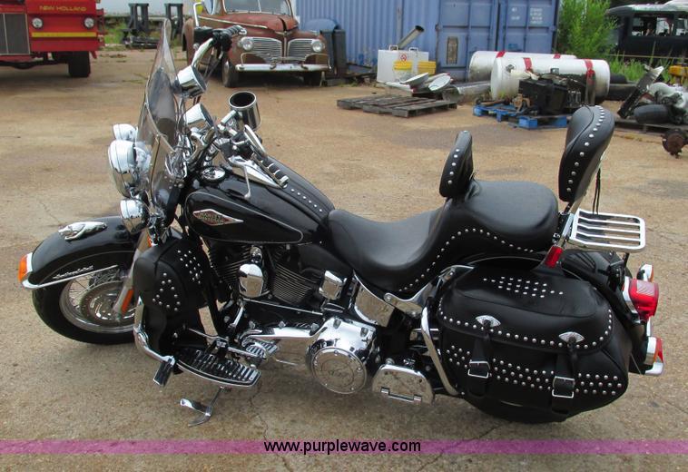 2012 Harley Davidson Heritage Softail motorcycle | Item AC99