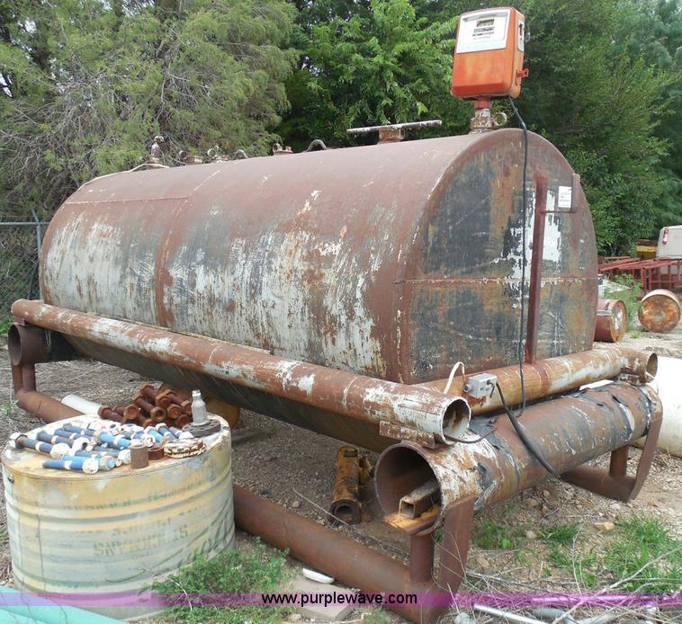 Wichita Steel Fabricators 1 000 Gallon Fuel Tank No