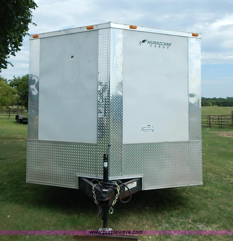 2013 Hurricane Enclosed Cargo Trailer