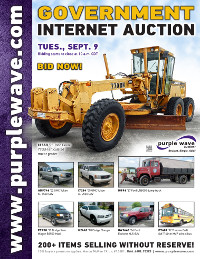 View September 9 Government Auction flyer