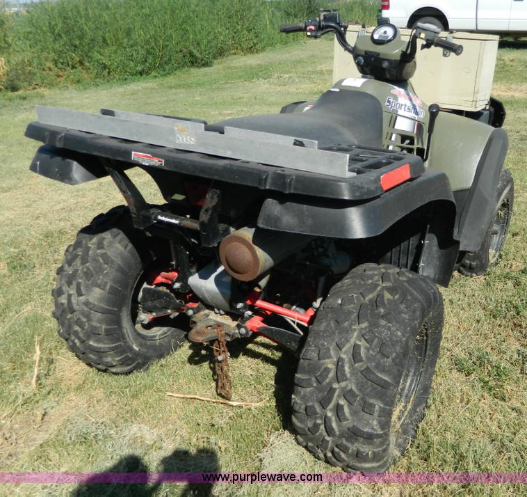 2004 Polaris Sportsman 400 ATV | Item AL9801 | SOLD! Septemb