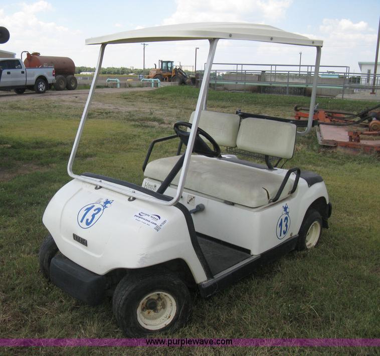 1997 yamaha g16a golf cart item h5281 sold september 9 rh purplewave com Yamaha G16A Gas Golf Cart Yamaha G16A Gas Golf Cart