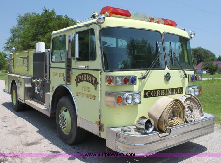 1988 sutphen fire engine pumper truck item i7257 sold s i7257 image for item i7257 1988 sutphen fire engine pumper truck sciox Gallery