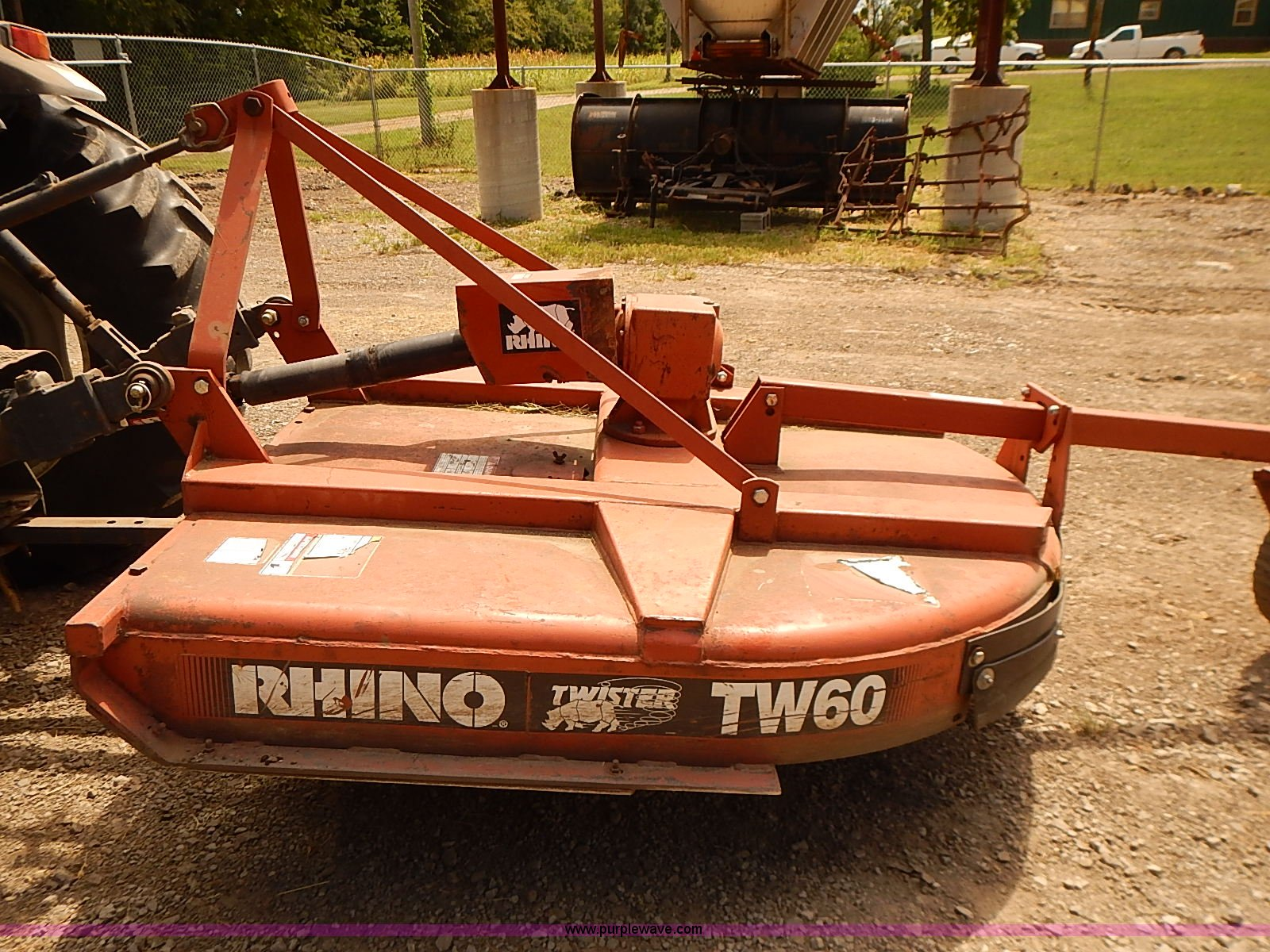 Rhino TW60 rotary mower | Item BA9575 | SOLD! September 9 Go