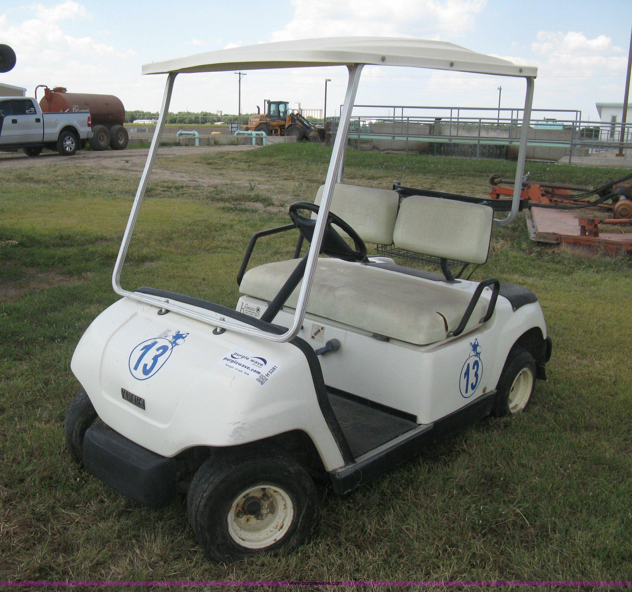 1997 yamaha g16a golf cart item h5281 sold september for Yamaha golf cart id