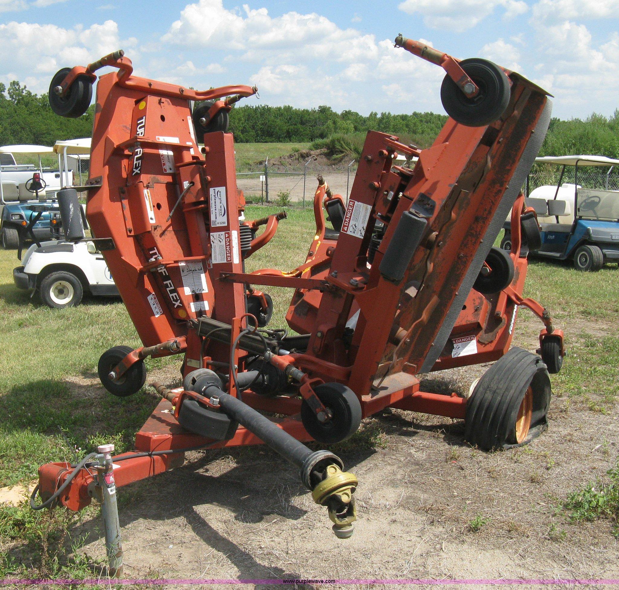 Rhino TX135 Turf Flex batwing mower | Item H5290 | SOLD! Sep