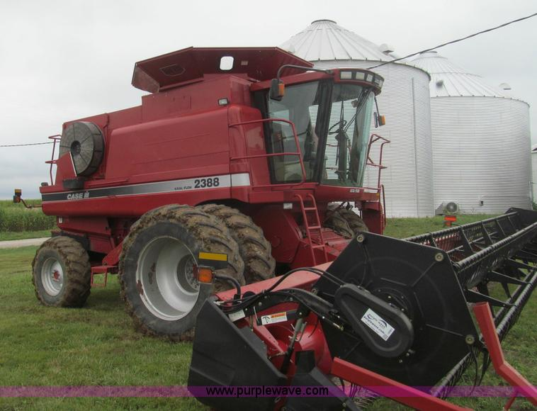 I8983 2003 case ih 2388 rwa combine item i8983 sold! september wiring diagram 2388 combine at gsmx.co