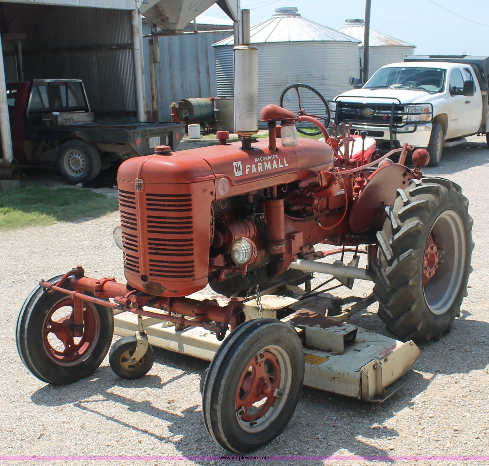 McCormick Farmall Super A tractor | Item AC9913 | SOLD! Sept