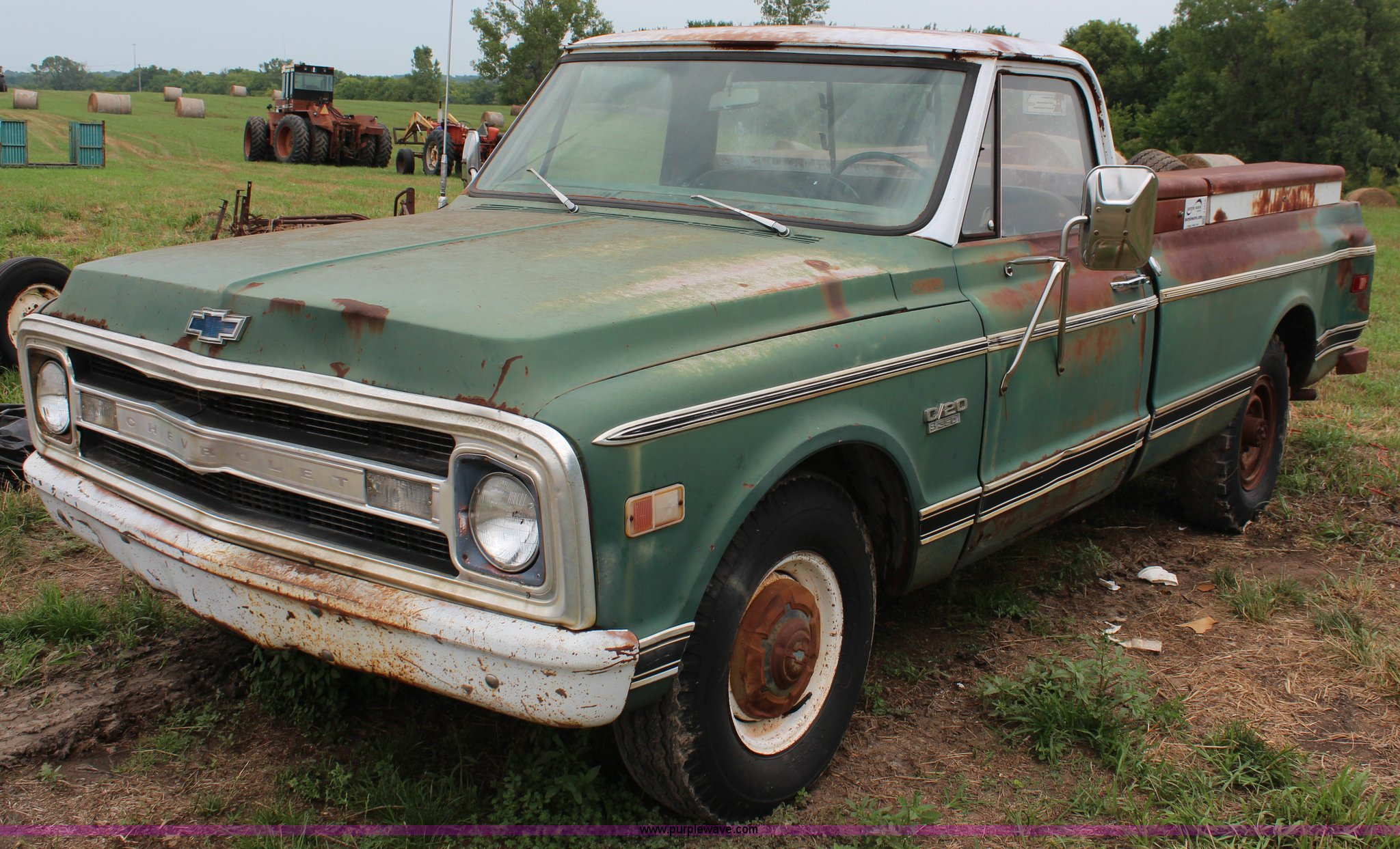 1969 chevrolet c20 pickup truck item j1016 sold septemb 1969 Chevy Trailblazer j1016 image for item j1016 1969 chevrolet c20