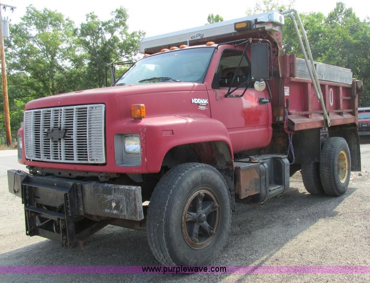 1995 Chevrolet Kodiak dump truck | Item AW9928 | SOLD! Septe