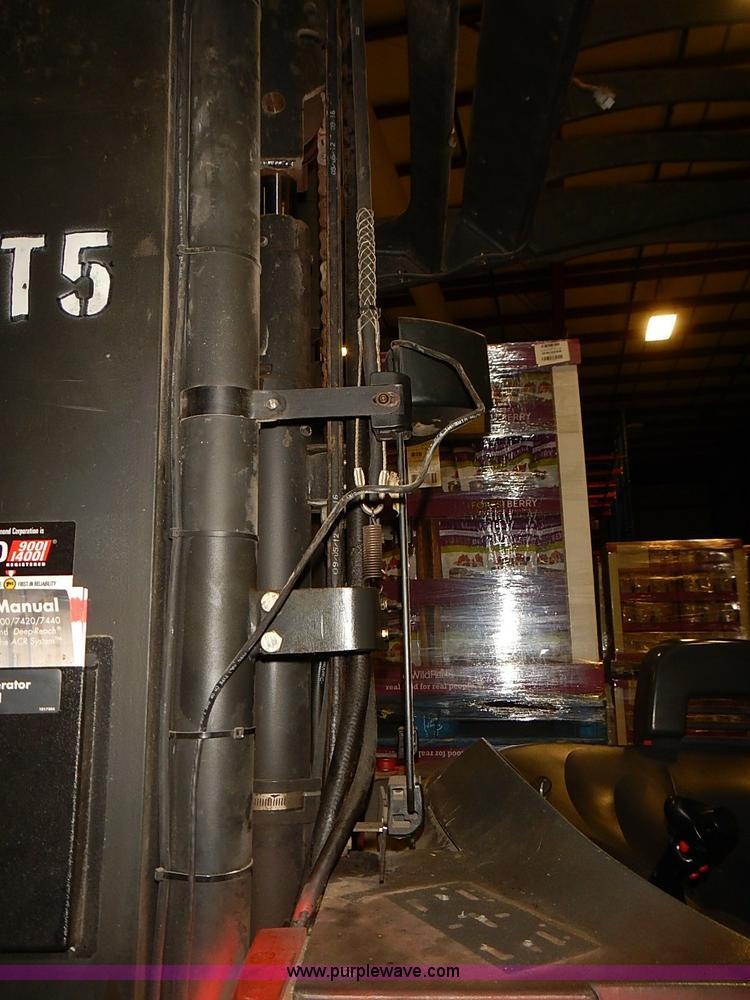 Raymond 740DR32TT Deep-Reach forklift | Item J3153 | SOLD! S