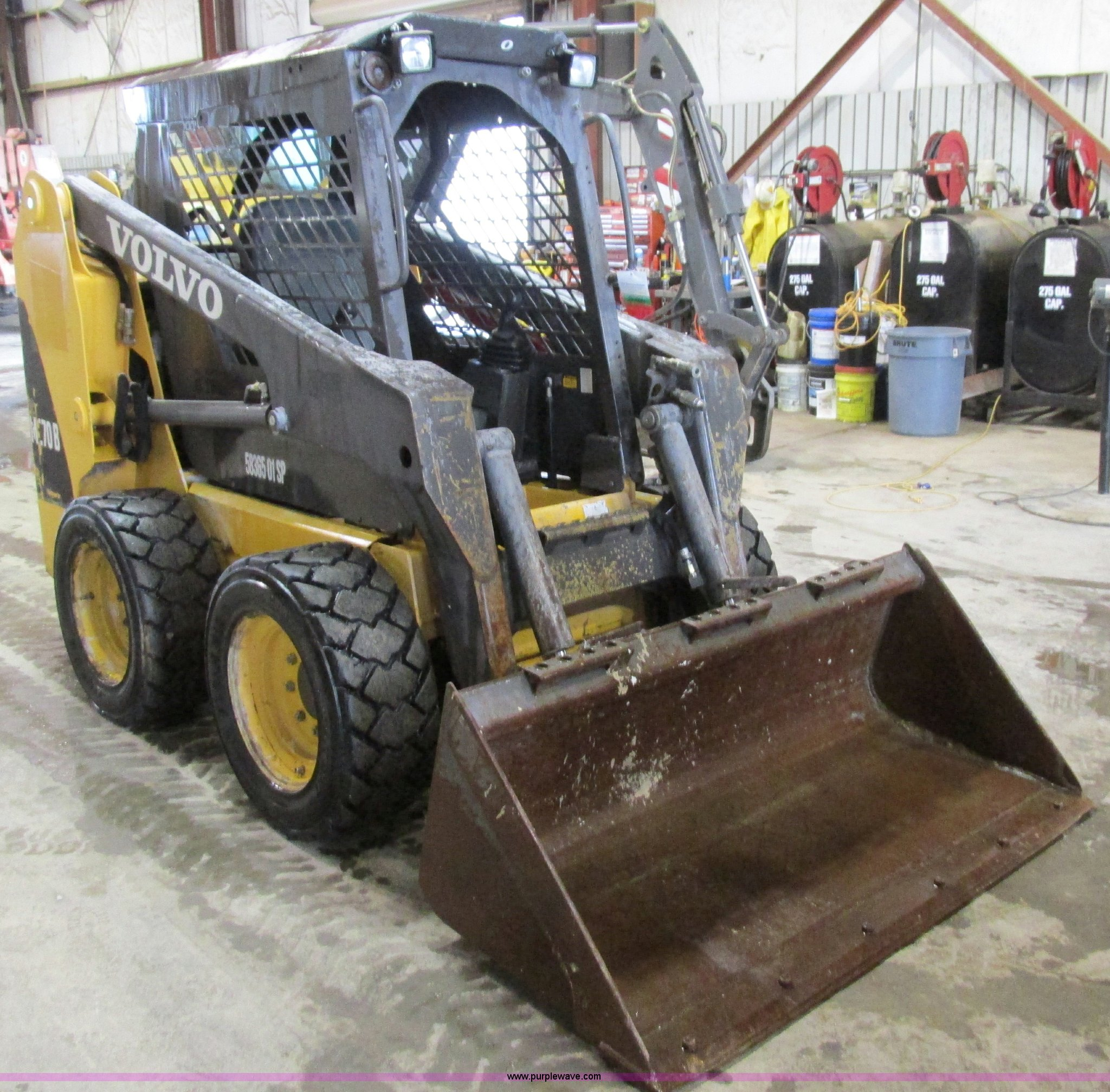 AW9918 image for item AW9918 Volvo MC70 skid steer