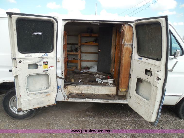 1989 Ford Econoline E150 cargo van   Item I3365   SOLD! Sept