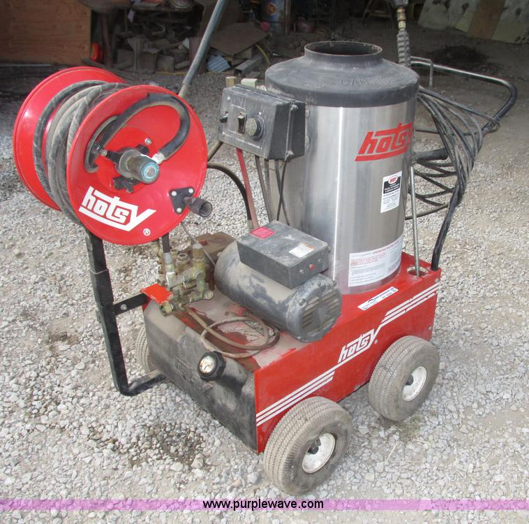 ae9284 image for item ae9284 hotsy 770r electric hot water pressure washer