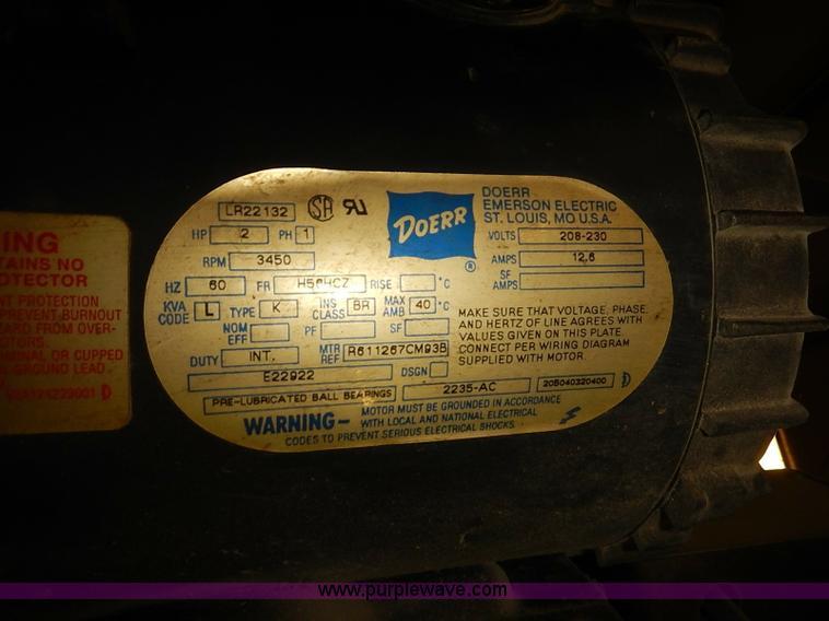 grand car lift item ba9607 sold! september 17 vehicles a doerr lr22132 wiring diagram electric motors wiring diagram doerr