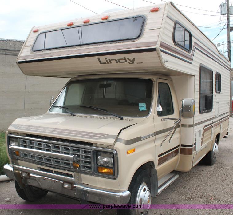 1986 Ford Econoline E350 RV   Item G8166   SOLD! September 1