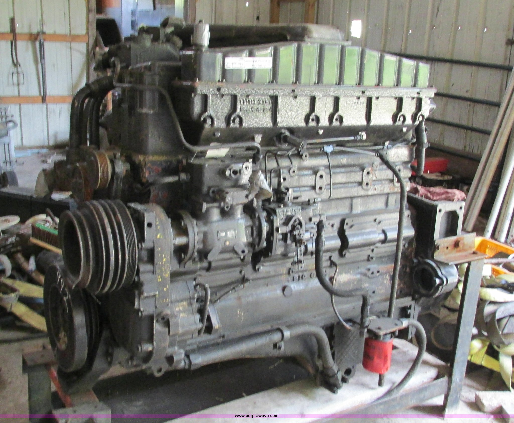 Cummins 400 C I D  big cam six cylinder diesel engine | Item