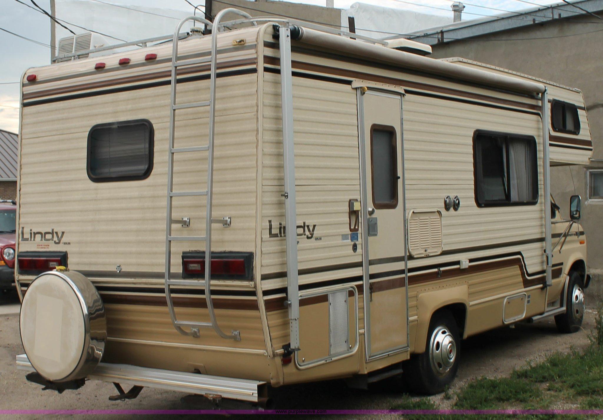 1986 Ford Econoline E350 RV | Item G8166 | SOLD! September 1