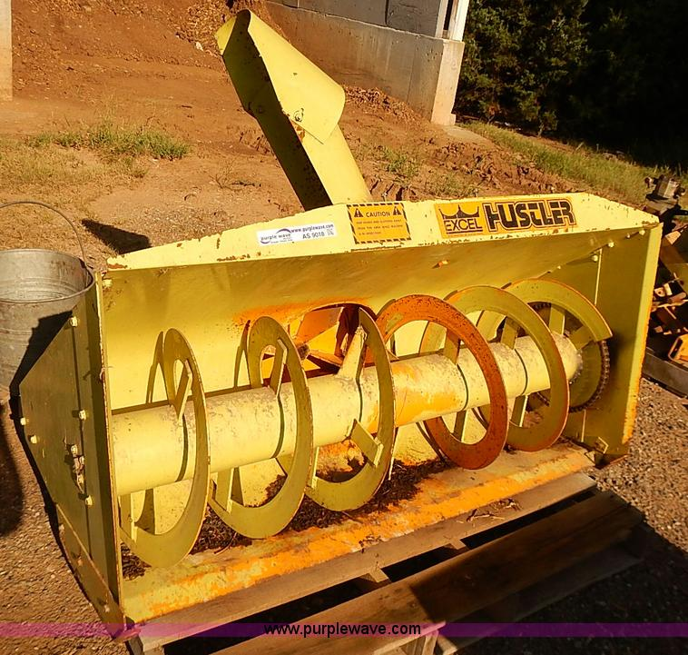 Excel Hustler Snow Blower No Reserve Auction On Tuesday