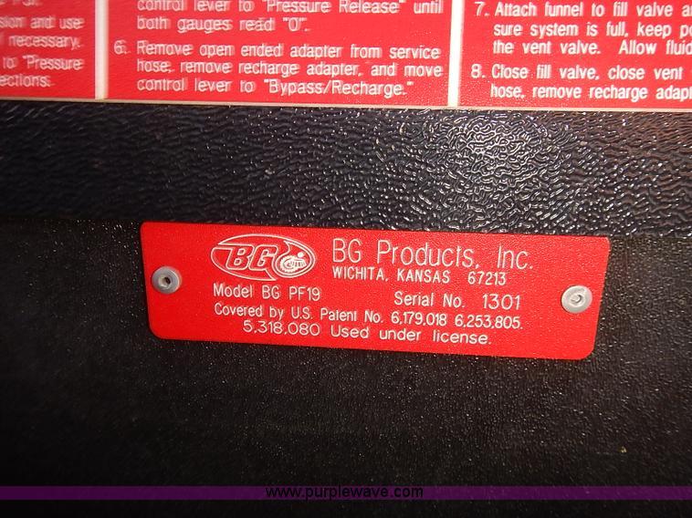 2) BG transmission flush units | Item E7748 | SOLD! Septemb