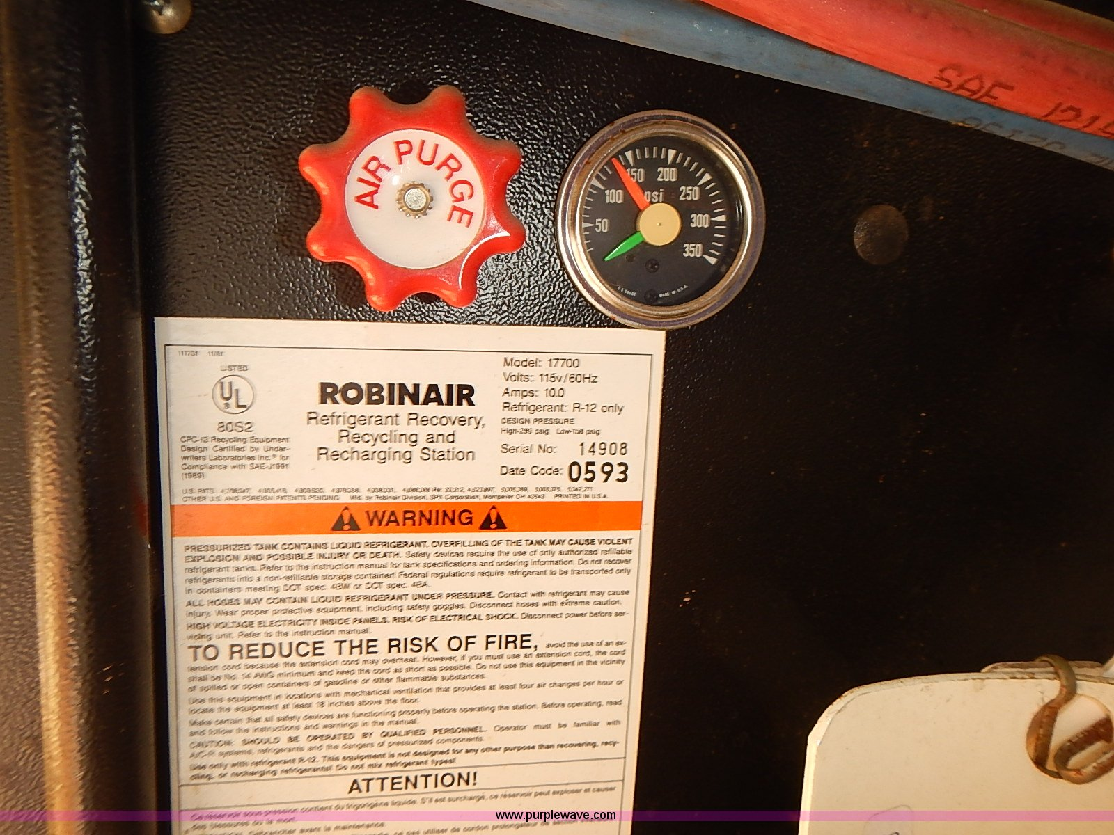robinair enviro charge refrigerant recovery recycling rechar rh purplewave com robinair enviro charge dual manual robinair enviro charge dual manual
