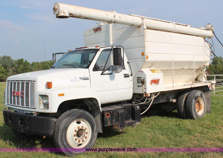 1992 Gmc Topkick Feed Delivery Truck Item J2025 Sold