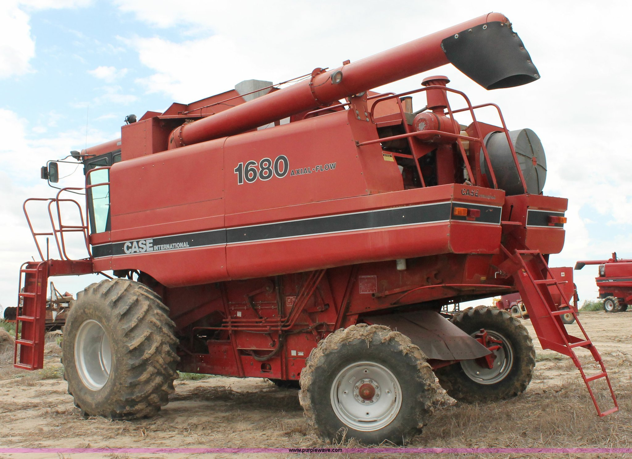 ... Case 1680 axial flow combine Full size in new window ...