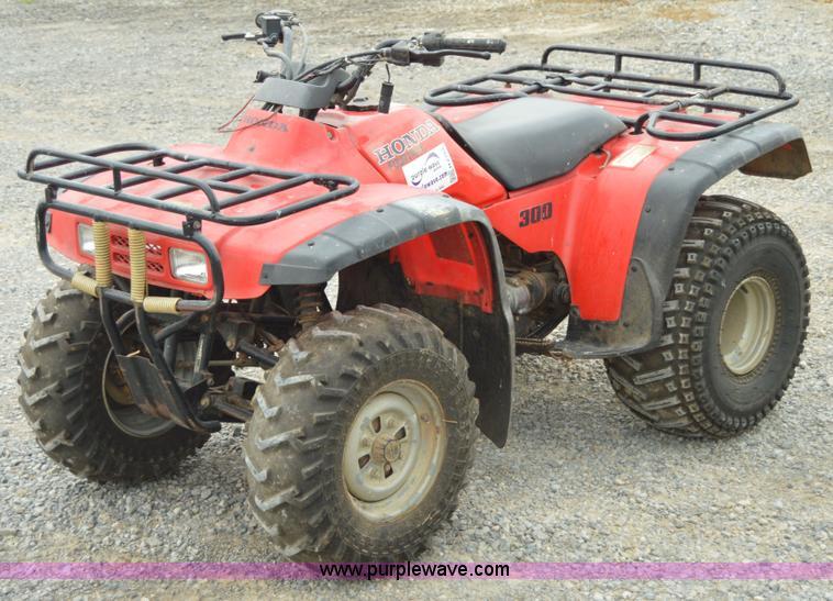 High Quality H2764 Image For Item H2764 1998 Honda Four Trax 300 ATV