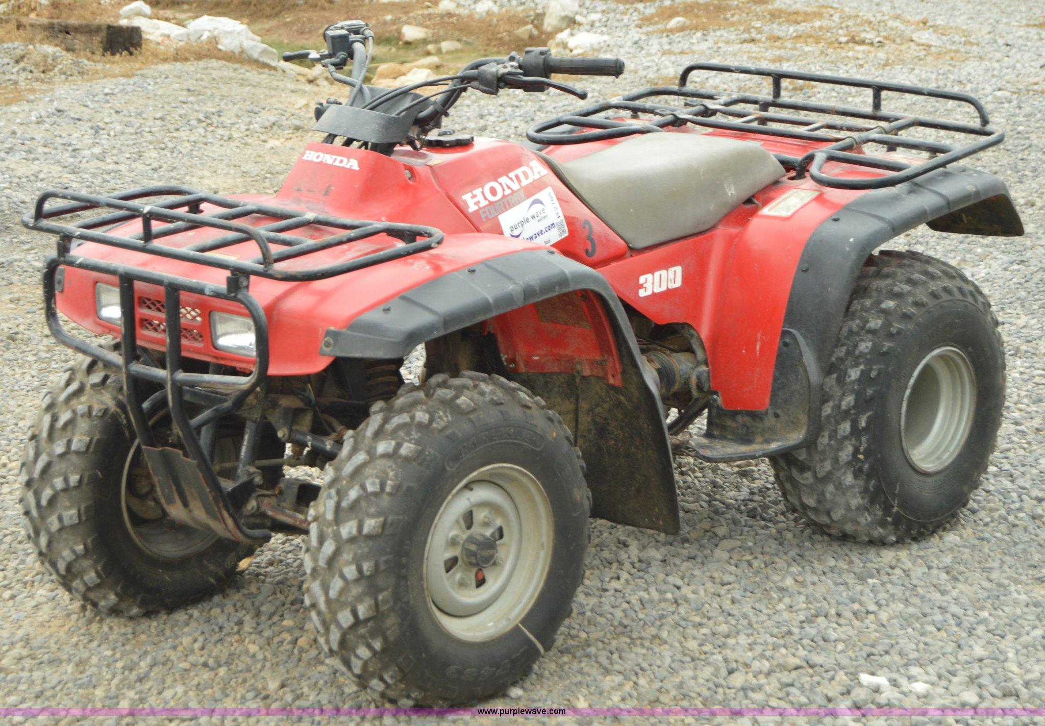 1996 Honda Fourtrax Atv 200 Winch Wiring Diagram Four Trax 300 Item H2765 Sold September Rh Purplewave Com Foreman Used Parts