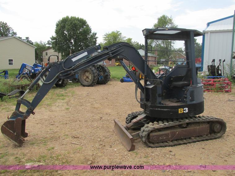 Yanmar Excavator B3 Manual