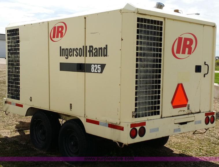 1993 ingersoll rand 825 cfm air compressor item e9000 so rh purplewave com Ingersoll Rand Air Hoist Manual Ml Ingersoll Rand Rollers