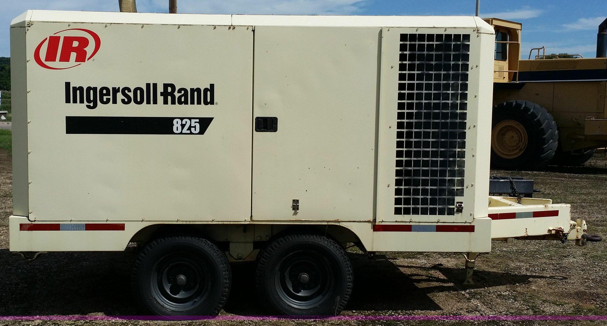1993 ingersoll rand 825 cfm air compressor item e9000 so rh purplewave com Rand Ingersoll R75i-W1235 Ingersoll Rand Chain Hoist Manual