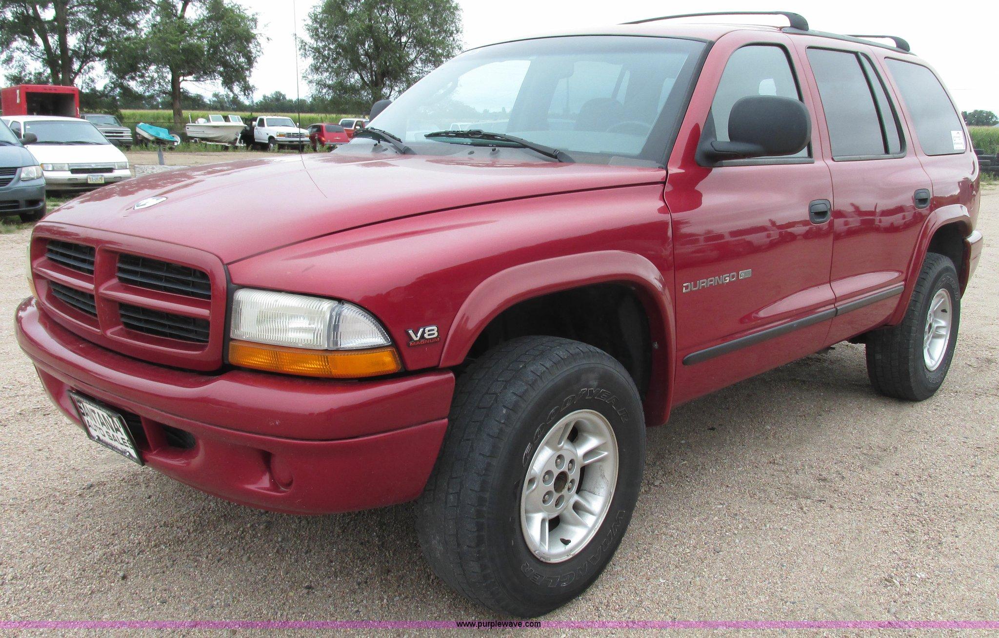 1999 Dodge Durango Slt Suv In Lexington Ne Item G9970 Sold Purple Wave