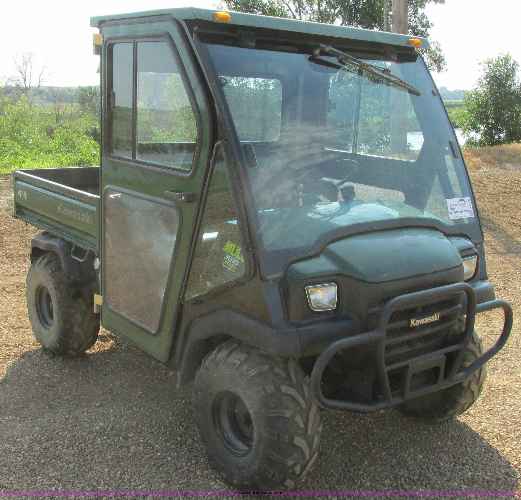 2008 Kawasaki Mule 3010 utility vehicle | Item I6209 | SOLD!