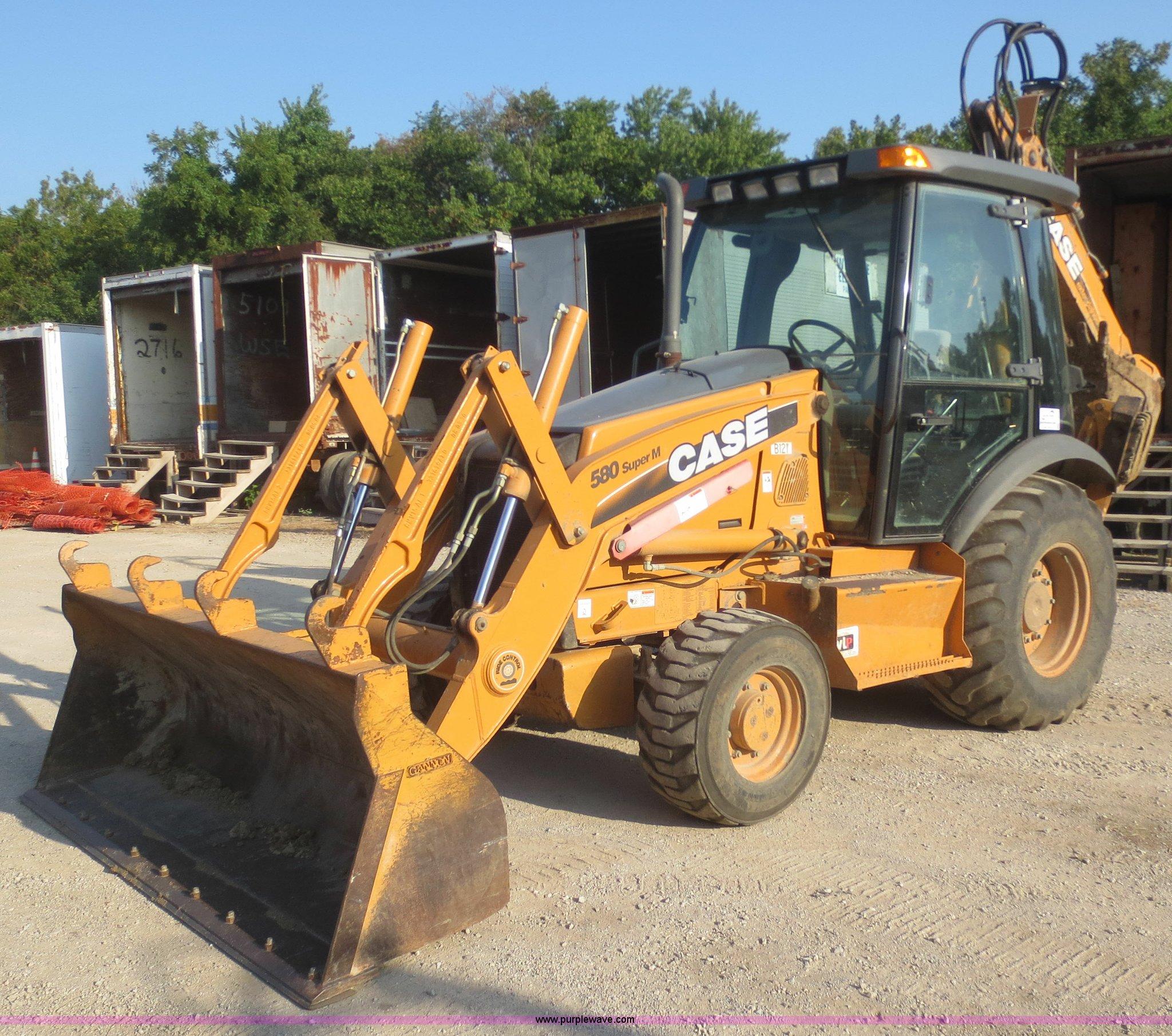 2008 Case 580 Super M Series 3 backhoe | Item F8294 | SOLD!