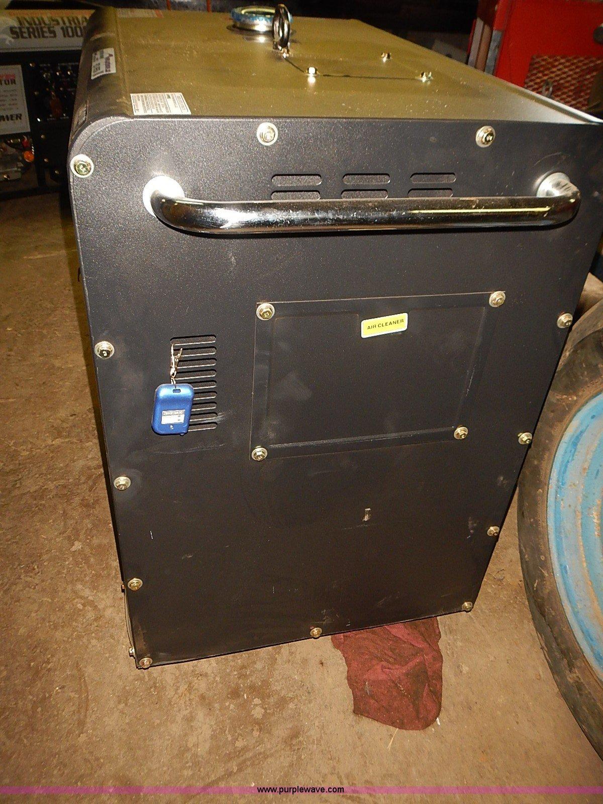 Falcon Industrial 8000ES sel generator Item BD9959